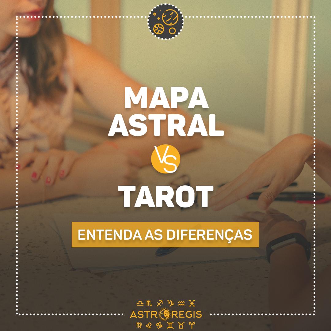Mapa Astral x Tarot: entenda as diferenças e qual escolher